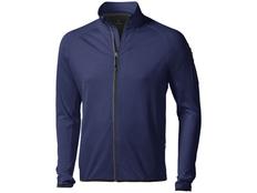 Куртка флисовая мужская Elevate Mani, темно-синяя фото