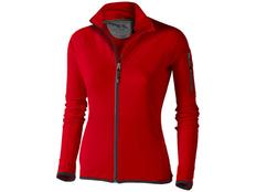 Куртка флисовая женская Elevate Mani, красная фото