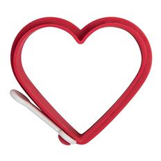 Формочка для приготовления яичницы Сердце, красный фото