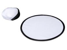 Фрисби Летающая тарелка в чехле, белая/ черная фото