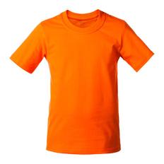 Футболка детская T-Bolka Kids, оранжевая фото