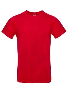 Футболка мужская B&C E190, красная фото