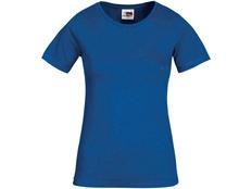 Футболка женская US Basic Heavy Super Club, синяя фото