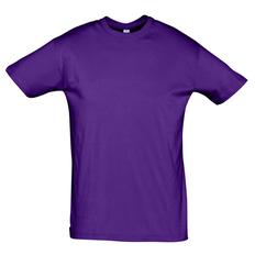 Футболка мужская Sol's Regent 150, фиолетовая фото