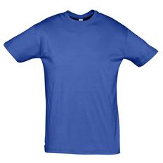 Футболка мужская Sol's Regent 150, ярко-синяя фото