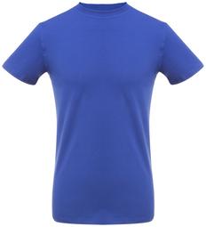 Футболка мужская облегающая T-Bolka Stretch, ярко-синяя фото