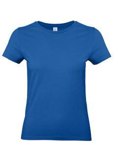 Футболка женская B&C E190, ярко-синяя фото