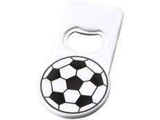 Футбольная открывалка с магнитом, белый фото