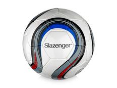 Футбольный мяч, белый, разноцветный фото