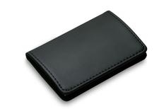 Футляр для визитных карт Gianni, черный фото