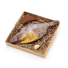 Фигурка шоколадная Лещ, коричневая фото