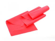 Фитнес-резинка Superelastic, нагрузка до 4.6 кг, латекс, красная фото