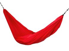 Гамак Lazy, красный фото