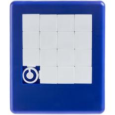 Головоломка «Пятнашки», синяя фото