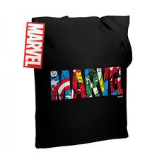 Холщовая сумка Marvel Avengers, черная фото
