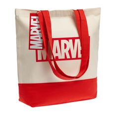 Холщовая сумка Marvel, красная фото