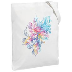 Холщовая сумка Vibrance, молочно-белая фото