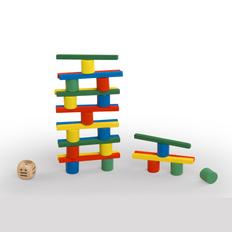 Игра на ловкость «Баланс», разноцветная фото
