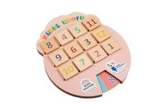 Игра «Волшебные окошки. Живые цифры», разноцветная фото