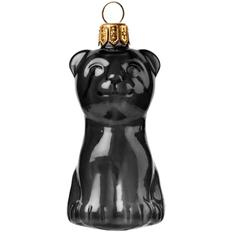 Игрушка елочная «Тигренок», черная фото