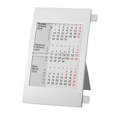 Календарь настольный на 2 года, белый фото