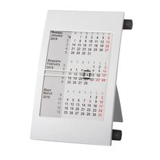 Календарь настольный на 2 года, черный, белый фото