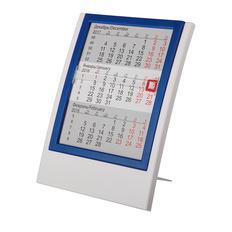 Календарь настольный на 2 года, синий, белый фото