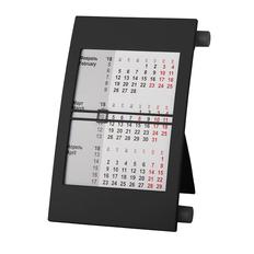 Календарь настольный на 2 года 18х11 см, черный фото