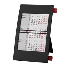 Календарь настольный на 2 года, черный, красный фото