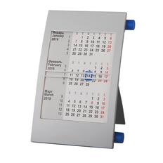 Календарь настольный на 2 года, синий/ серый фото