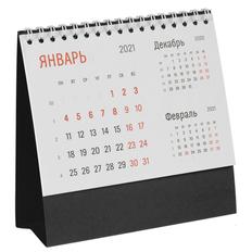 Календарь настольный Сделано в России Nettuno, черный фото