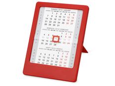 Календарь Офисный помощник, красный фото