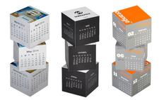 Календари «Кубики» магнитные фото