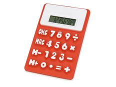 Калькулятор Splitz, белый/ красный фото