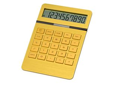 Калькулятор Золотой, золотой фото