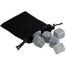 Камни для виски 6 камней Hardy, серые фото