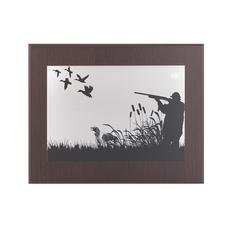 Картина Охота, серый фото