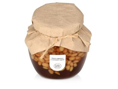 Кедровые орешки в сиропе из сосновых шишек, прозрачный фото