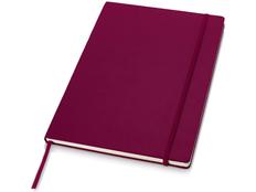 Деловой блокнот в линейку Journalbooks А4, 80 листов, бордовый фото