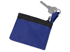 Ключница на молнии, синий фото
