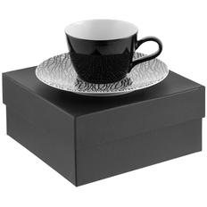 Кофейная пара Seltmann Life Fashion, черная/ белая фото