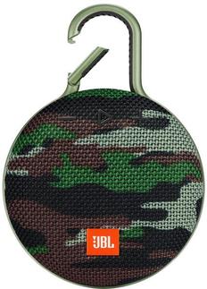 Колонка Bluetooth JBL Clip 3, 1000 mAh, камуфляж фото