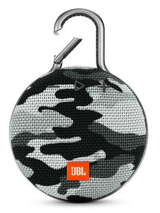 Колонка Bluetooth JBL Clip 3, 1000 mAh, камуфляж/ серая фото