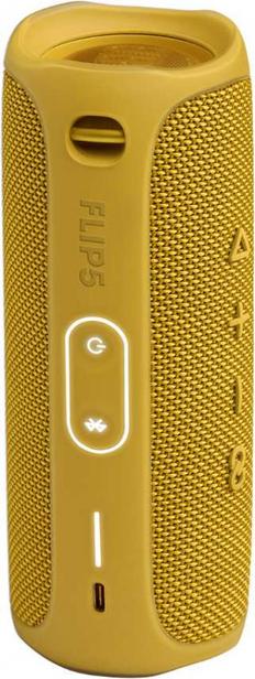 Колонка портативная JBL Flip 5, желтая фото