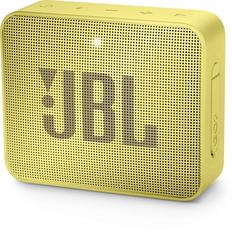 Колонка портативная JBL GO 2, желтая, 730 mAh фото