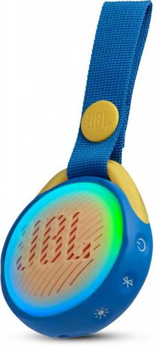 Колонка портативная JBL JR Pop, 650 mAh, синяя фото