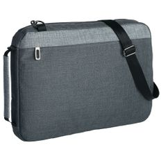 Конференц-сумка 2 в 1 twoFold, темно-серая фото