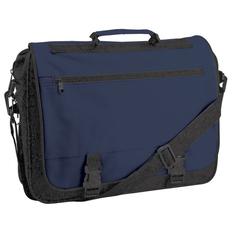 Конференц-сумка Expo, черный/ синий фото