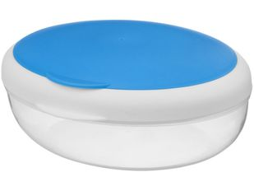 Контейнер для ланча Maalbox, прозрачный, синий, белый фото