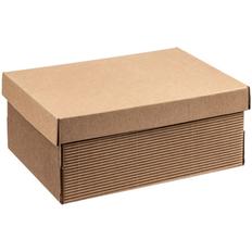 Коробка Fence, крафт фото
